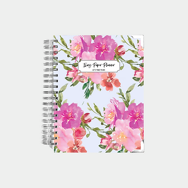 Pale Blue Watercolor | Undated Ivory Paper Co Planner