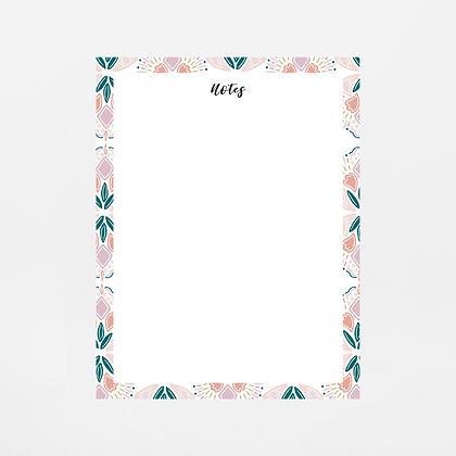Colorful Geometric Notepad