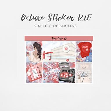 Bullseye | Deluxe Kit (Glossy Planner Stickers)