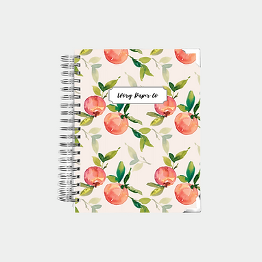 Natural Peach | Undated Ivory Paper Co Planner