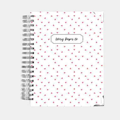 Hearts | All-In-One Planner (Daily, Weekly & Monthly)