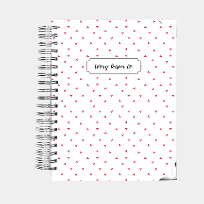 Hearts | 12 Month Daily Planner