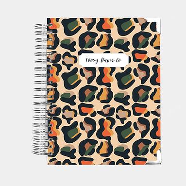 Budget Planner - 12 Months  - Animal Print