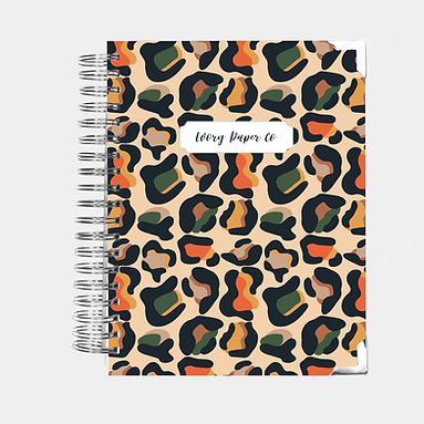 Wild Animal | All-In-One Planner (Daily, Weekly & Monthly)