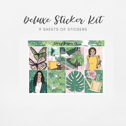 Wild | Deluxe Kit (Glossy Planner Stickers)