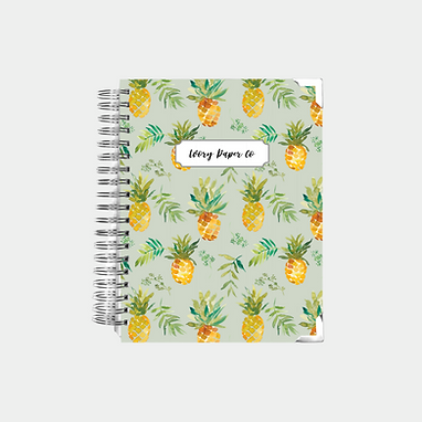 Pineapple | Undated Ivory Paper Co Planner