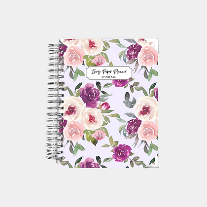 Lavender Watercolor | Undated Ivory Paper Co Planner