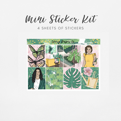 Wild | Mini Kit (Glossy Planner Stickers)