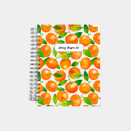 Mandarin | Undated Ivory Paper Co Planner
