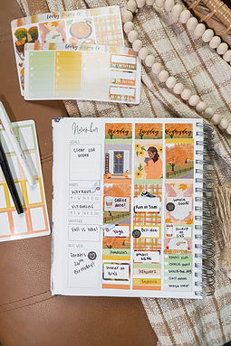 Thanksgiving | Deluxe Kit (Glossy Planner Stickers)