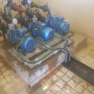 Fire booster motors