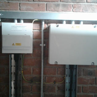 Control junction box