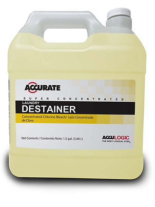 Acculogic Laundry Destainer