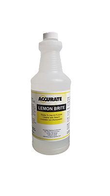 Lemon Brite Cleaner w/Bleach