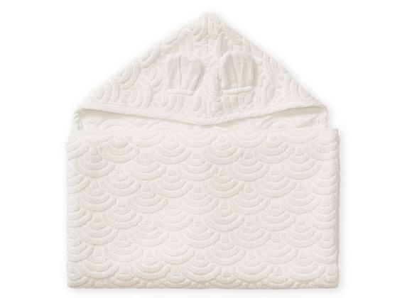 Cam Cam Copenhagen Towel Hooded W/Ears 70x130cm Off White