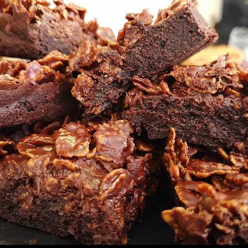 Chocolate cornflake brownies (12)