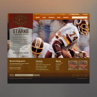 Starke Communications wordpress website