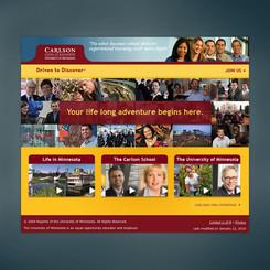 Carlson School of Management MBA Program admission's presentation.