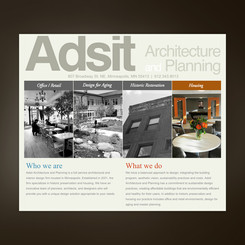 Adsit Architecture and Planning Website
