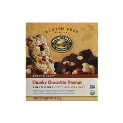 Granola Bars,Chocolate Peanut (Pack of 6)