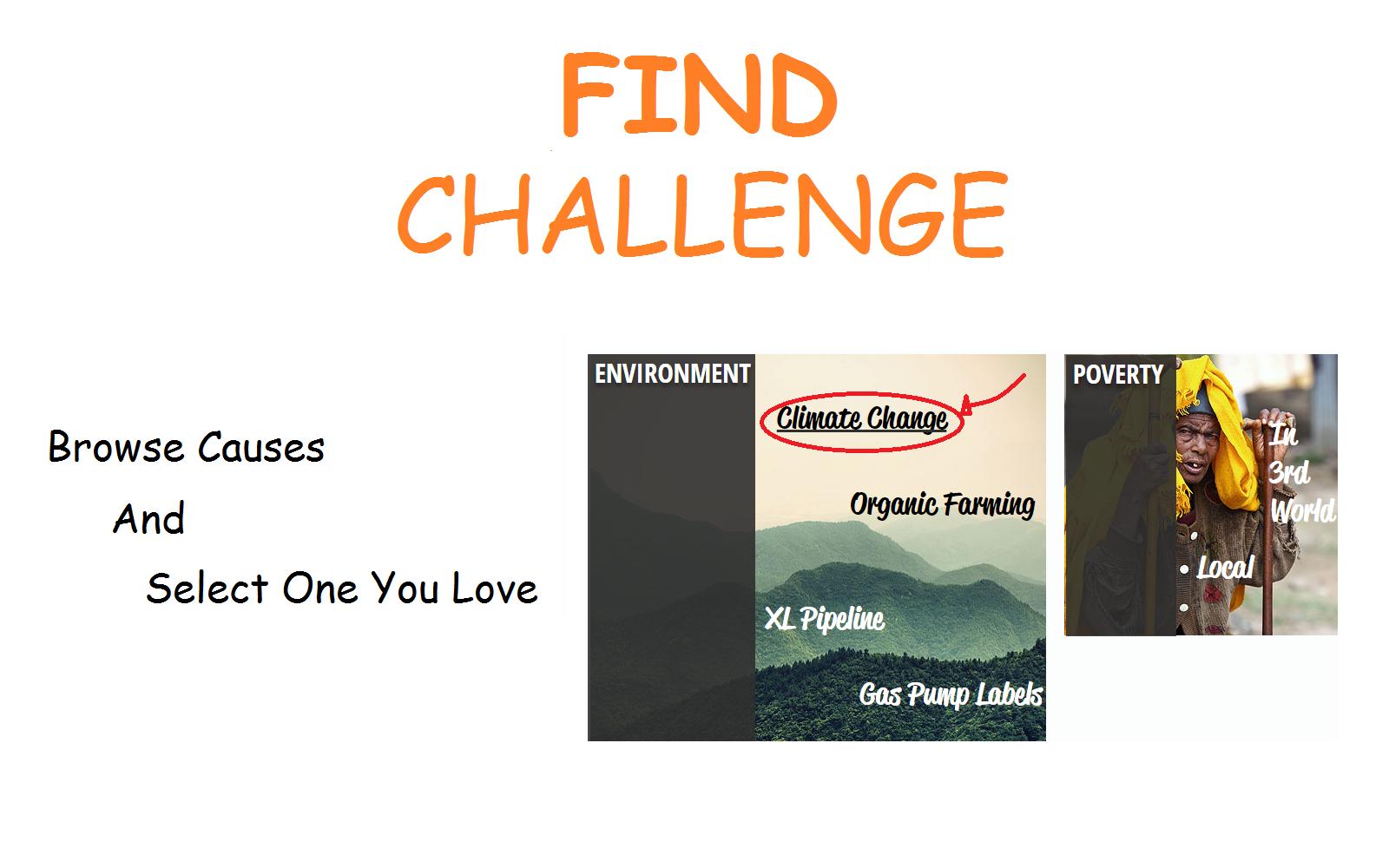 1 - Find a Challenge