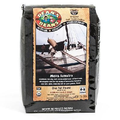 Moka Sumatra Whole Bean Coffee