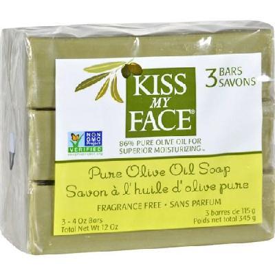 Olive Oil Bar Soap - Pack of 3
