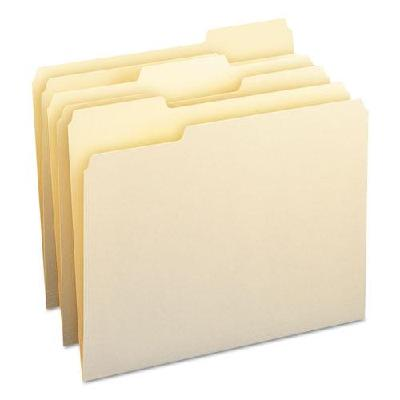File Folders, Letter, Manila, 100Box