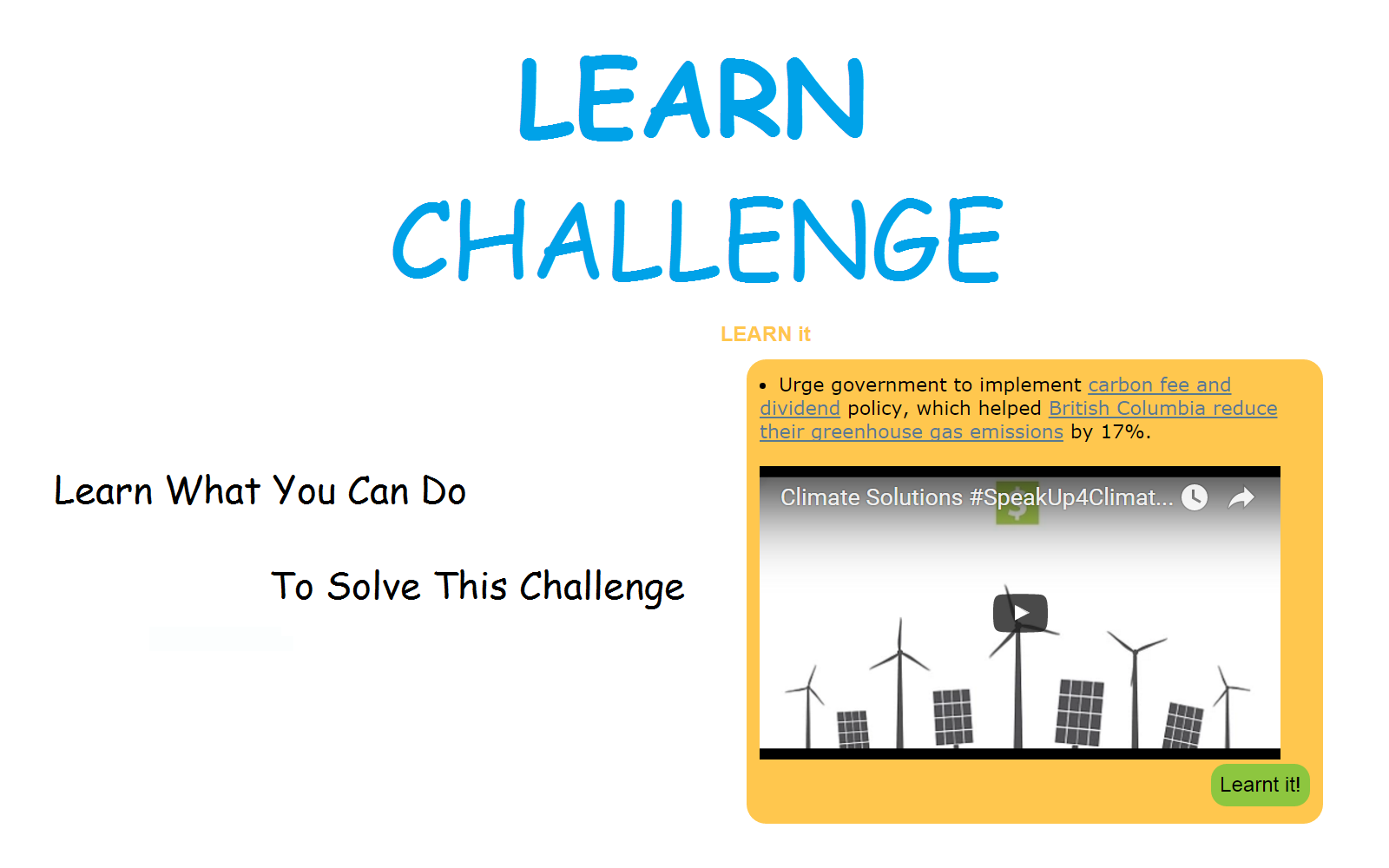 2 - Learn The Challenge