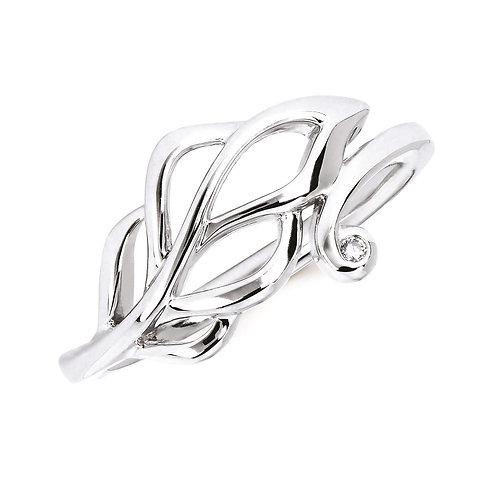 Diva Leaf Ring