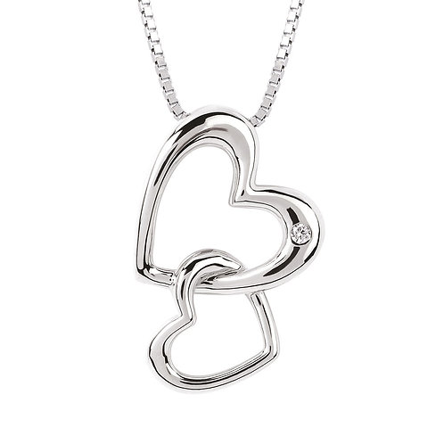 Diva Connected Heart Pendant