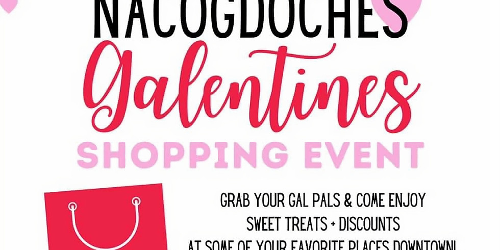 Galentine's Shopping Event