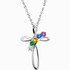 Family Cross Necklace