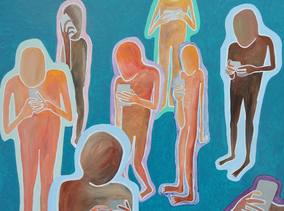 acrylic on canvas, 3 ft x 4 ft, 2017