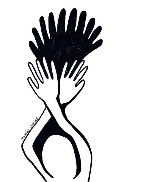 ink illustration, 2020