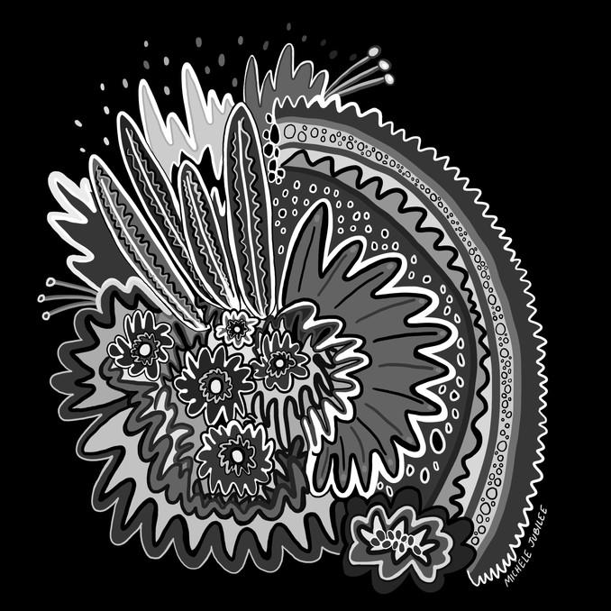 digital illustration, 2020