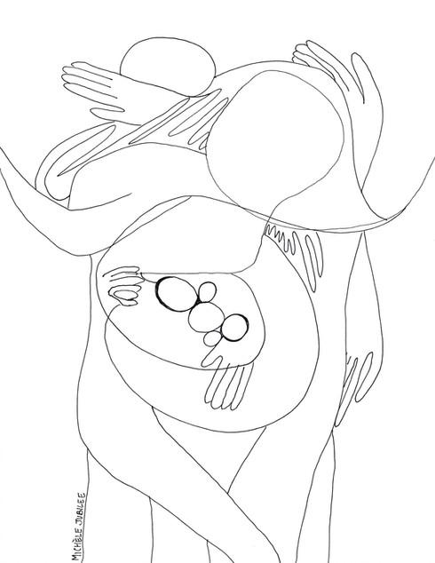 ink illustration, 2018