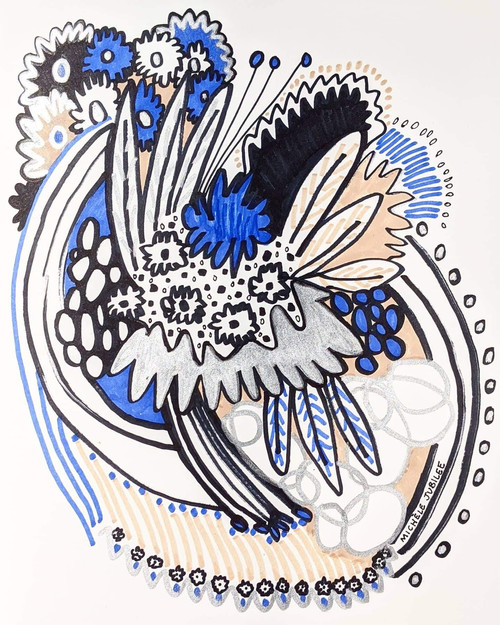 pen illustration, 2020