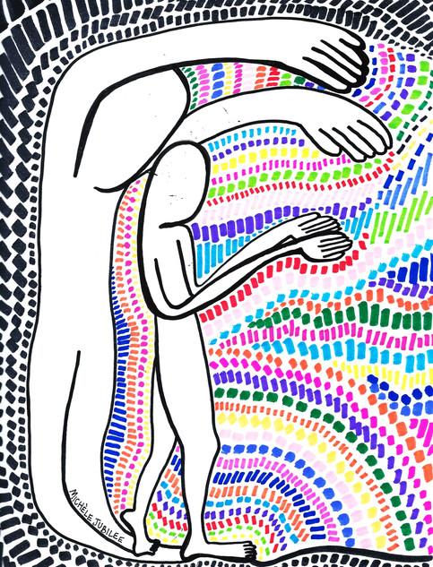 ink and marker illustration, 2019