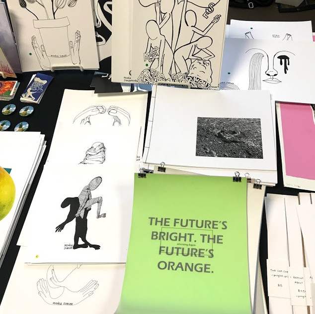 VANCOUVER ART AND BOOK FAIR 2017