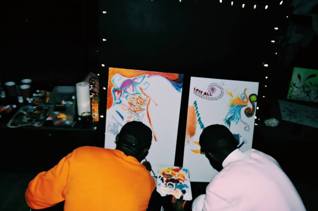 Hip Hop in Colors: Live Painting