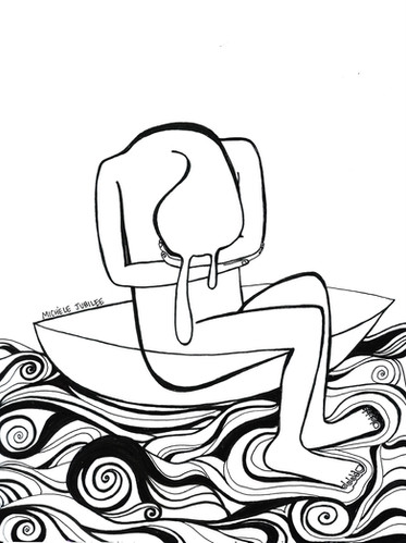 ink illustration, 2017