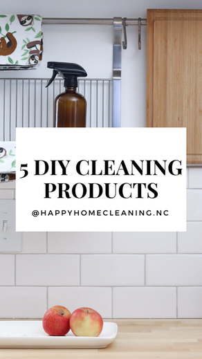 5 DIY Cleaning Recipes