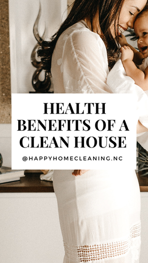 5 Health Benefits of a Clean House