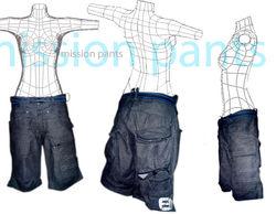 mission pant shorts