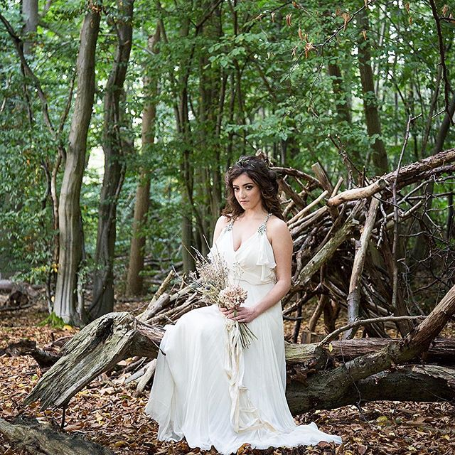 #photoshoot #forest #hairstylist #hair #bridal #lovemyjob #KRGhairandbridal ❤️
