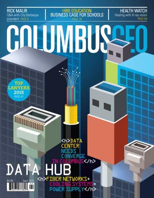 ColumbusCEO cover, April 201