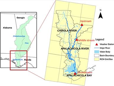 Karim Alizad Journal of Hydrology IDF Apalachicola