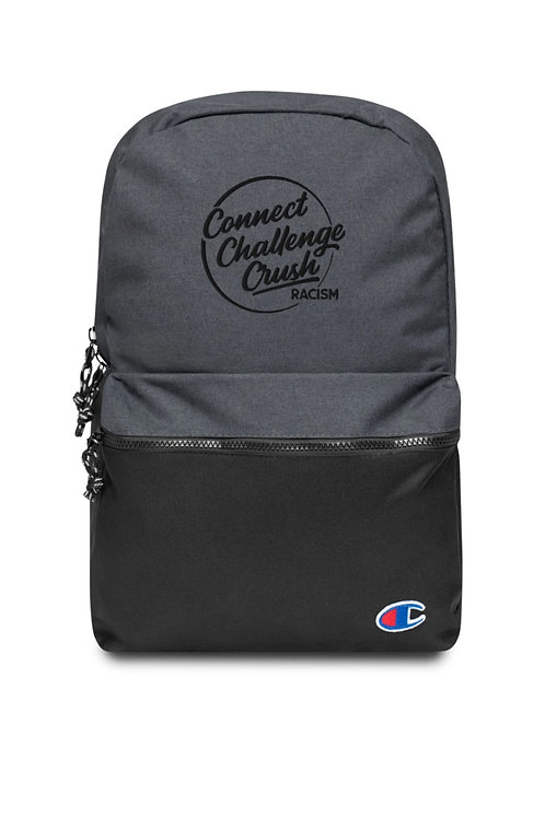 Connect-Challenge-Crush Embroidered Champion Backpack