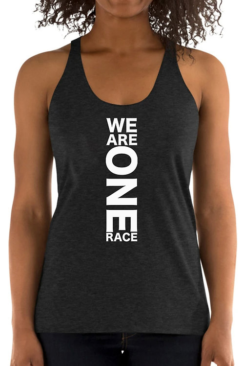 We Are One Race - Ladies Tank Top